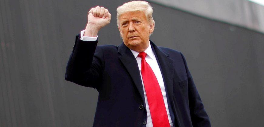 Трамп помиловал 73 человек и выступил с прощальной речью