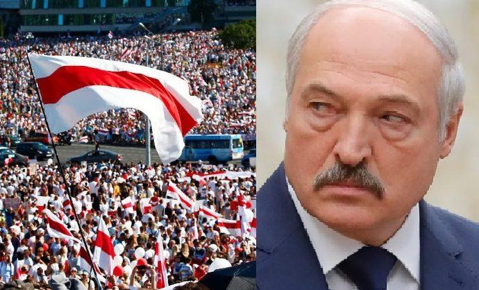 Лукашенко объяснил протесты белорусов: «закрыли границу, они здесь остались, а работать не хотят»