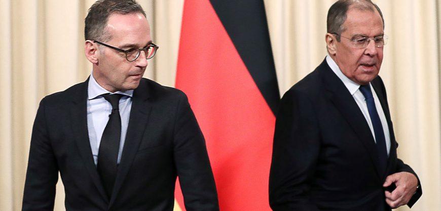 МИД Германии призвал немедленно освободить задержанных на митингах в поддержку Навального