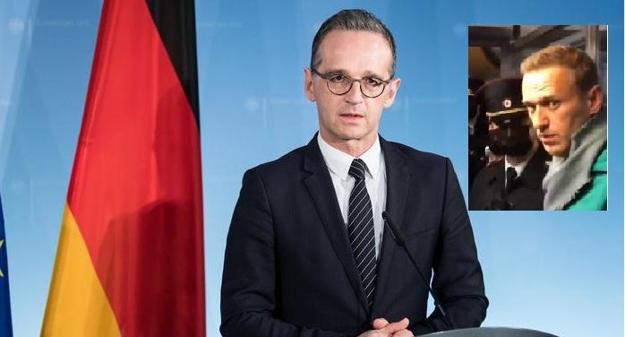 МИД Германии призвал немедленно освободить Алексея Навального