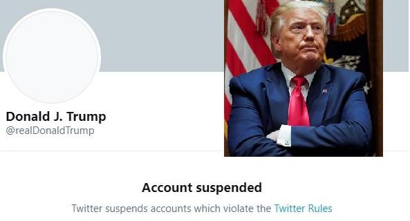 Twitter навсегда заблокировал аккаунт Трампа из-за риска «подстрекательства к насилию»