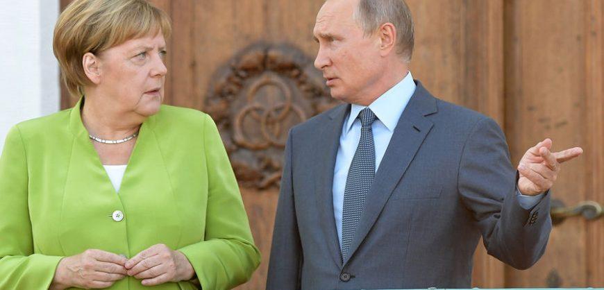 Меркель призвала Кремль немедленно  освободить Навального